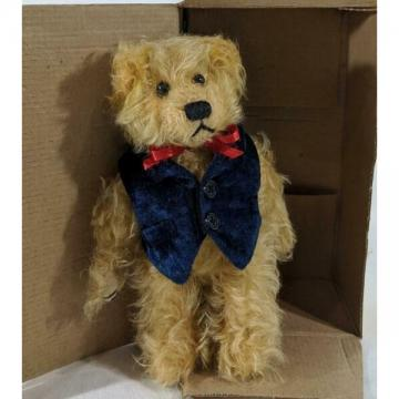 """New ListingLM Mary Meyer Lil Colby 8"""" Mohair Collection Jointed Classic Teddy Bear Plush NW"""