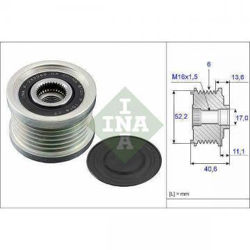 Overrunning Alternator Pulley fits NISSAN PRIMERA P12 2.0 02 to 08 QR20DE Clutch