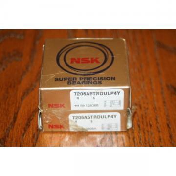 New NSK 7206 A5TRDULP4Y Super Precision Bearings 7206A5TRDULP4Y