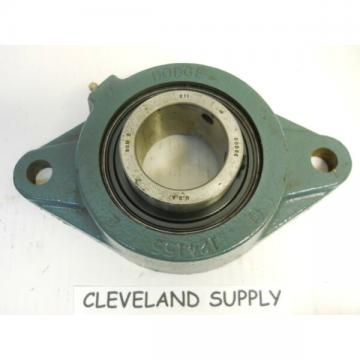 """DODGE F2BSCM211 FLANGE TYPE PILLOW BLOCK BEARING 2"""" BORE NEW CONDITION / NO BOX"""