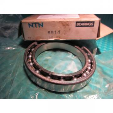 NIB NTN Bearing 6914 FREE SHIPPING!!!