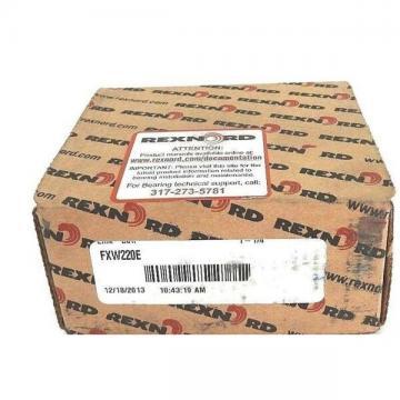 "NIB REXNORD FXW220E LINK-BELT FLANGE BEARING 2-BOLT, 1.250"" ID, 3.937"" BHC"